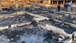 Lübnan'da Mülteci Kampı Ateşe Verildi