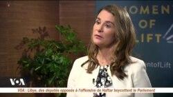 Rendre les femmes plus autonomes change le monde selon Melinda Gates
