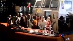 2015-08-23 美國之音視頻新聞:意大利地中海救出三千難民