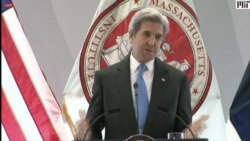 Kerry Talks about the Threat of Melting Glaciers