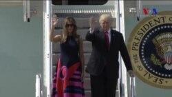 Trump G-20 Zirvesi İçin Almanya'da
