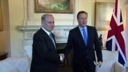 Facing Protests in London, Netanyahu Warns Mideast Is 'Disintegrating'