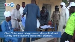 VOA60 Africa - Chad: Votes were being counted in presidential elections