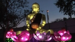 Californians Enjoy Huge Chinese Lanterns