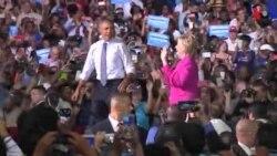 "Barack Obama replonge en campagne pour ""Hillary"" (vidéo)"