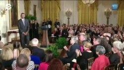 Трамп впервые за два года вручил медали за вклад в искусство