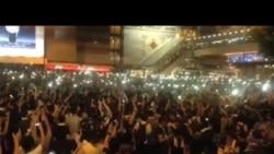 香港繼續爆發大規模抗議,促梁振英下台