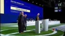 加拿大、墨西哥和美國贏得2026年世界盃主辦權