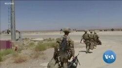 Retirada dos EUA do Afeganistão em curso