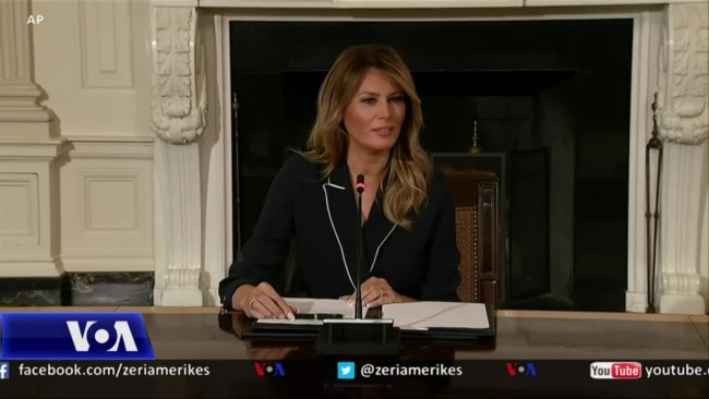 Profil i Zonjës së Parë, Melania Trump