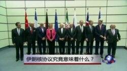 时事大家谈:伊朗核协议究竟意味着什么?