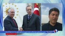 وزير خارجه آمريكا در ترکیه: ايران عامل بی ثباتی در منطقه است
