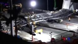 佛羅里達步行橋工程師早知已有裂縫