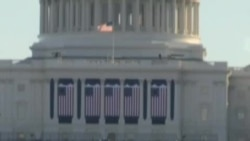 奥巴马总统周日在白宫不公开的仪式上宣誓连任