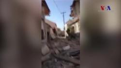 Yunanistan'dan Deprem Sonrası Görüntüler