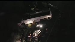 美國南加州旅遊巴士意外八人死亡