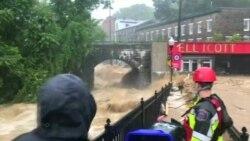 Ciudad de Maryland inundada por segunda vez en dos años