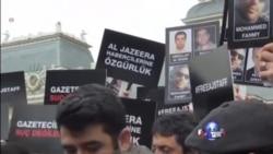 全球新闻业者声援在埃及被捕记者