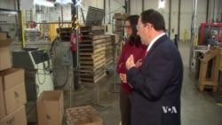 Obama Touts US Manufacturing Gains