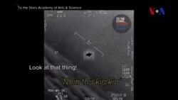 F-18 Mỹ truy đuổi UFO