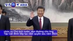 Đảng Cộng sản TQ muốn bỏ giới hạn nhiệm kỳ Chủ tịch nước