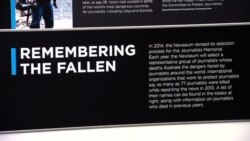 CN-Newseum Salutes Journalists Who Died Covering the News in 2013