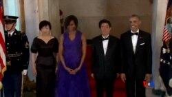 2015-04-29 美國之音視頻新聞:白宮國宴招待安倍晉三到訪