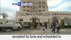 VOA60 World - Syria Agrees to US-Russia Cease-fire Plan