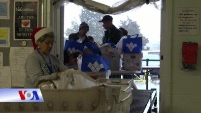 Giáng sinh sớm cho người nghèo ở ngoại ô Washington