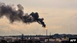 Нефтеперерабатывающий завод в Гаване