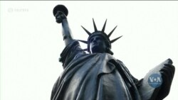 Цього тижня до США із Франції вирушила міні-копія Статуї Свободи. Відео