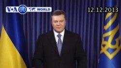 Ukraina 'có ý định ký' Hiệp định thương mại với EU (VOA60)
