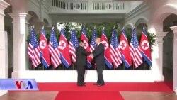 Correspondants VOA du 13 juin 2018 : Rencontre historique entre Donald Trump et le dirigeant nord-coréen Kim Jong Un à Singapour