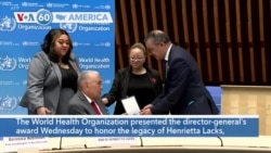 VOA60 America - WHO Honors Henrietta Lacks, Woman Whose Cells Served Science