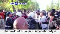 VOA60 World PM - Turkey's Pro-Kurdish Party Deputies Arrested
