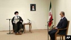 دیدار نخست وزیر عراق با رهبر جمهوری اسلامی ایران در تهران - ۲۰۲۰