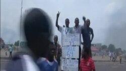 Protestos em Kinshasa contra Kabila