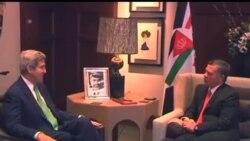 2013-11-07 美國之音視頻新聞: 克里繼續推動以巴和談