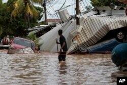 سمندری طوفان ایٹا سے کریبین کے علاقے میں بڑے پیمانے پر تباہی ہوئی۔