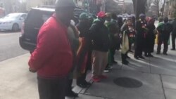 Diaspora Community in DC March Against Violence in Zimbabwe