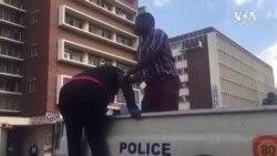 Kubotshwa Inkokheli Yebandla leMDC Alliance Ebizama Ukungena eMorgan Tsvangirai House