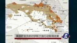 美国称联军打击伊斯兰国组织取得效果