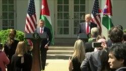ԱՄՆ-ի նախագահը հույս ունի առաջընթաց տեսնել իսրայելա-պաղեստինյան խաղաղության գործընթացում