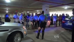 Girls Learn What It Takes to Become a Police Officer