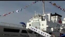 中国向菲灾区派海军医院船