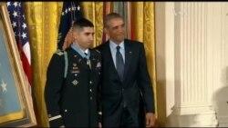 Уродженець Франції отримав Медаль Пошани. Відео
