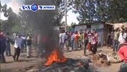 VOA60 Afrika: Waandamanaji wapinga tume ya uchaguzi Kenya