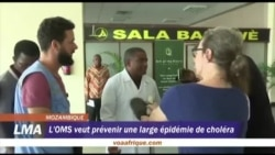 L'OMS veut prévenir une large épidémie de choléra au Mozambique