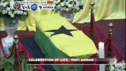 VOA60 Afirka: A Ghana An Yi Jana'izar Tsohon Sakataren Majalisar Dinkin Duniya Koffi Annan