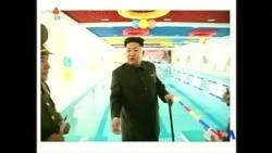 2014-10-14 美國之音視頻新聞: 金正恩在國家媒體上露面